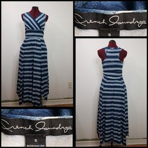 French Laundry Dresses - french laundry woman sleeveless tunic dress STRIPE